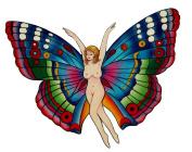 Butterfly Fairy Temporary Tattoo