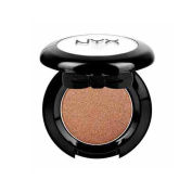 1 NYX Hot Singles Eye Shadow HS25 Bonfire ( Dark warm brown with gold shimmer ) + FREE EARRING