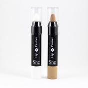 S.he Lip Primer Nude & White Stick Cream