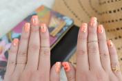 BEACH NAIL ART SET - 10 sheets of metallic gold and silver foil tropical inspired temporary nail Flash Tattoos – nail decal, nail sticker, nail art, metallic foil nails