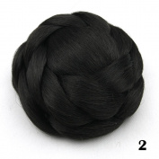 Large Hair Buns Synthetic Hair Chignon Fake Hair Bun Hairpiece Fast Bun