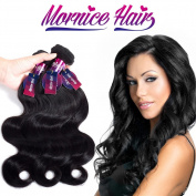 Mornice Hair 10A Brazilian Virgin Hair Body Wave 3 Bundles 46cm 50cm 60cm 100% Unprocessed Virgin Human Hair Weft Extensions Natural Colour 100g/pc