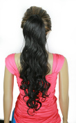 SARLA 70cm Synthetic Curly Ponytail Extension Long Messy Drawstring Ponytail P007