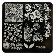 Creazy Pattern DIY Nail Art Image Stamp Stamping Plates Manicure Template