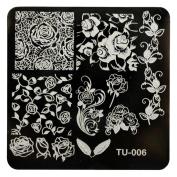 Creazy Pattern DIY Nail Art Image Stamp Stamping Plates Manicure Template