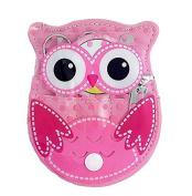 5pcs Cute Owl Manicure Set Nail Tools Kit Pedicure File Nail Care Scissors Eyebrow Tweezers Beauty Products Makeup Tools