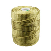 C-Lon Tex 400 Heavy Weight Bead Cord, Lemongrass - 1.0mm, 39 Yard Spool