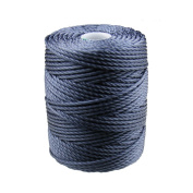 C-Lon Tex 400 Heavy Weight Bead Cord, Indigo - 1.0mm, 39 Yard Spool