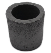Funshowcase Foundry Clay Graphite Crucibles Cup Furnace Torch Melting Casting Refining Gold Silver Copper Brass Aluminium Glass 100ml