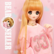 Pink long sleeve fleece For SD17 uncle doll accessories