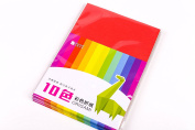 Maxleaf 80s to 100sheets Double-Sided Origami Paper 10 Colours 6-Inch by 6-Inch DIY Colour Paper