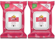 Yes To Grapefruit Correct & Repair Rejuvenating Facial Wipes,
