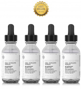 Hollywoodskin 2.5% Retinol serum–4x STRONGER than regular anti-ageing and acne treatments. With 11% Hyaluronic Acid and 20% Vitamin C, highest strength. 4x 30ml