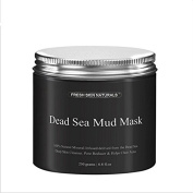 Bingirl Dead Sea Mud Mask Deep Cleaning Black Mask Hydrating Acne Blemish Clearing Lightening Moisturiser Nourishing Pore Face Cleaner
