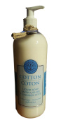 Erbario Toscano Cotton / Coton Scented Liquid Soap 1000ml With Pump From Italy