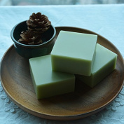 Bingirl 100g Handmade Matcha Green Tea Powder Soap Whitening Moisturising Cleansing Soap Remove Acne Cleansing Bath Bar Soap