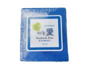 Gangwon, Natural Handmade LOVE SOAP, 100% Natural ingredients, Irises Hair Soap Bar, anti-dandruff, oily hair care