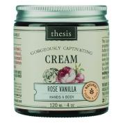 Body Cream - Raw Shea Butter - Rose Vanilla