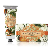 Somerset Toiletry Co. AAA Floral Hand Cream and Triple Milled Soap Set - Orange Blossom