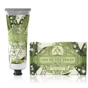 Somerset Toiletry Co. AAA Floral Hand Cream and Triple Milled Soap Set - Lily of the Valley