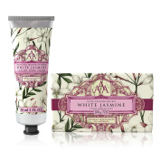 Somerset Toiletry Co. AAA Floral Hand Cream and Triple Milled Soap Set - White Jasmine