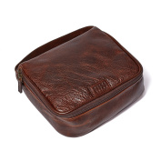 Moore and Giles Titan Milled Brown Men's Donald Dopp Kit