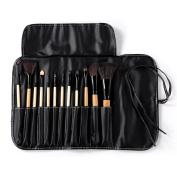 Rosabeauty Top Quality 11pcs/set Professional Makeup Brushes Face Powder Foundation Eyeshadow Blush Brush Set CosmeticTools