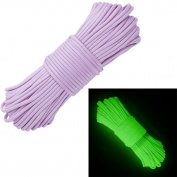 Glow in the Dark Zesty 21 Strand 550 Luminous Paracord Parachute Rope Cord