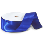 Royal Blue 3.8cm . Wide Double Faced Satin Ribbon - 50 Yard Spool