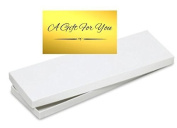4pack Mens Tie / Socks White Gift Wrap Packaging Box with Gold Seal
