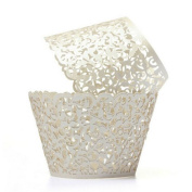 ROSENICE Cupcake Wrappers Cupcake Cases Cupcake Holders Muffin Cups 50pcs