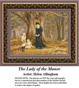 Fine Art Cross Stitch Patterns | The Lady of the Manor