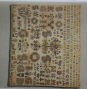 Sampler 1761, Permin of Copenhagen Cross Stitch Chart Danish Art Needlework