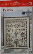 Sampler 1808 Celle, Permin of Copenhagen Cross Stitch Chart Danish Art Needlework