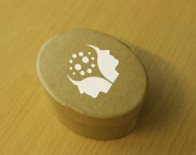 5 x Rigid Card Storage Boxes Embossed With Mark Bowden Hypnotherapy Logo