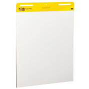 Post-it Easel Pad, 60cm x 80cm , White, 30-Sheets/Pad