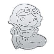 WinnerEco Princess Stencil Cutting Dies Stencil Metal Mould for DIY Scrapbook Album Paper Card