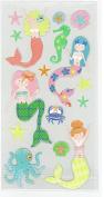 Mermaids Seahorses Seashells 3d Stickers Fish Stickers