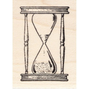 Hourglass Rubber Stamp