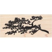 Asian Tree Branch Rubber Stamp