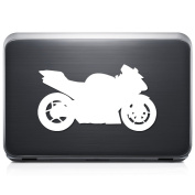 Kawasaki Ninja Zx-6R Motorcycle Motorbike REMOVABLE Vinyl Decal Sticker For Laptop Tablet Helmet Windows Wall Decor Car Truck Motorcycle - Size (07 Inch / 18 Cm Wide) - Colour