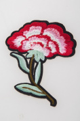 Crewel Embroidery Fantasy Red Flower Patterned Needle Work Kit Hand Craft Decor