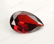 50PCS Size 3x5~10x12mm AAAAA Garnet Pear Shape Loose Cubic Zirconia CZ Stone For Jewellery Diy