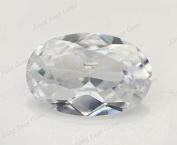 50PCS Size 3x5~13x18mm AAAAA White Oval Shape Loose Cubic Zirconia CZ Stone For Jewellery Diy