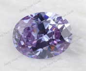 50PCS Size 3x5~10x12mm AAAAA Lavender Oval Shape Loose Cubic Zirconia CZ Stone For Jewellery Diy