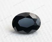 50PCS Size 3x5~13x18mm AAAAA Black Oval Shape Loose Cubic Zirconia CZ Stone For Jewellery Diy