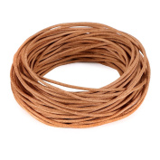 BEADNOVA 1.5mm Round Genuine Leather Cord For Bracelet Beading Jewellery Making 10 Metres/ 11 Yards, Natural Colour