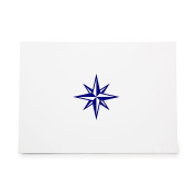 Compass Rose Direction Map Nautical Style 8789, Rubber Stamp Shape great for Scrapbooking, Crafts, Card Making, Ink Stamping Crafts