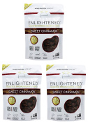 """Enlightened Roasted Fava Broad Beans """"The Good-For-You Crisp"""" (Pack of 3)"""