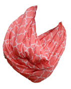 Two-Sided Infinity Nursing Scarf Best Breathable PRIVATE Coverage for Mom/Baby.